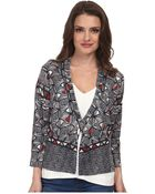 Nic+zoe Petite Boxed Tribal Cardy - Lyst