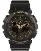 G-Shock Ga-100Cf-1A9Er Camouflage Watch - For Men - Lyst