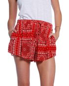 Rory Beca Pae Printed Shorts - Lyst