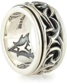 Stephen Webster Carved Thorn Rotating Ring - Lyst