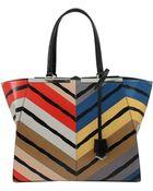 Fendi 2Jours Multi-Color Grande Shopper - Lyst