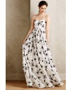 Tracy Reese Beaded Hibiscus Gown - Lyst