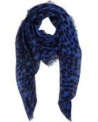 Alexander McQueen Square Scarf - Lyst