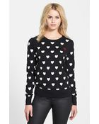 French Connection 'Broken Hearts' Sweater - Lyst