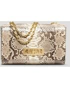 Michael Kors Shoulder Bag - Vivian Python Flap - Lyst