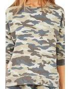 Pam & Gela Lisa Boxy Sweatshirt - Lyst