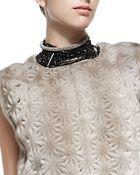 Brunello Cucinelli Black Agate Choker Necklace - Lyst