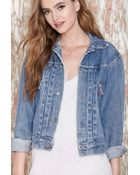 Nasty Gal Vintage 2Nd Edition Levi'S Denim Jacket - Lyst