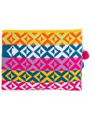 Sophie Anderson Marilu Woven-Cotton Clutch - Lyst