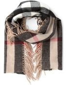 Burberry London Check Print Scarf - Lyst