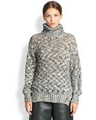 Yigal Azrouël Marled Turtleneck Sweater - Lyst
