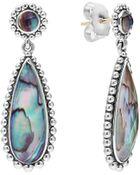 Lagos Maya Silver Abalone Teardrop Earrings - Lyst