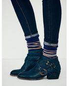 Free People Tortuga Ankle Boot - Lyst