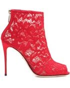 Dolce & Gabbana 'Bette' Ankle Boots - Lyst