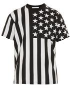 Givenchy Columbian-Fit American Flag-Print T-Shirt - Lyst