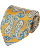 Barneys New York Paisley Neck Tie - Lyst
