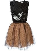 RED Valentino Sequin Dress - Lyst