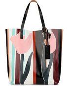 Marni Printed Shopper - Lyst