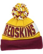 New Era Washington Redskins Rep Your Team Pom Knit Hat - Lyst