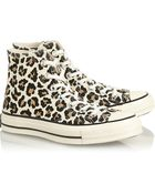 Converse 'Chuck Taylor' Leopard Print Sneakers - Lyst