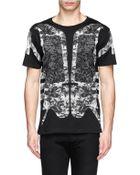 Marcelo Burlon 'Robot' Snake Print Jersey T-Shirt - Lyst