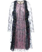 Lanvin Floral Lace Gown - Lyst