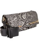 Lanvin Small Jacquard Folding Clutch - Lyst