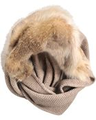 Inverni Wool Cashmere Hood - Lyst