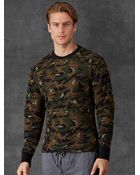 Polo Ralph Lauren Camo Long-Sleeved T-Shirt - Lyst