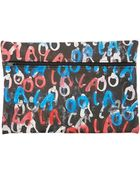 Simeon Farrar Black Ooh La La Clutch Bag - Lyst