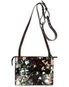 McQ by Alexander McQueen Festival Floral Cross-Body Bag - Lyst