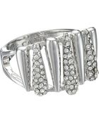 Vince Camuto Silver Springs Crystal Ring - Lyst