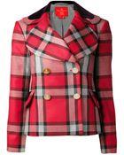 Vivienne Westwood Red Label Plaid Jacket - Lyst