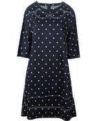 Comme des Garçons Oversized Polka Dot Dress - Lyst