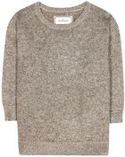 By Malene Birger Lulux Metallic Knit Sweater - Lyst
