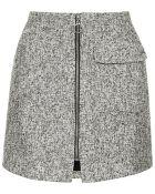 Topshop Petite Boucle Patch Pocket Pelmet Skirt - Lyst
