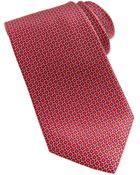 Brioni Linked Ovals Neat Tie - Lyst