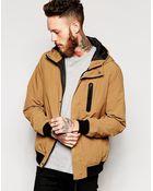 Asos Hooded Jacket - Lyst