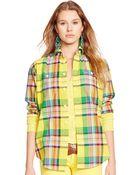 Polo Ralph Lauren Relaxed-Fit Cotton Shirt - Lyst