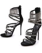 Giuseppe Zanotti Chained Platform Sandals - Black - Lyst