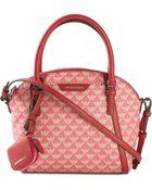 Emporio Armani Logo-Print Crossbody Bag - Lyst