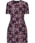 Mary Katrantzou Printed Cocktail Dress - Lyst