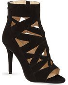 Nine West Delfina Heeled Ankle Boots - Lyst