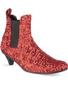 Comme des Garçons Sequin Chelsea Boots - For Women - Lyst
