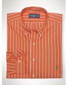 Polo Ralph Lauren Classic Striped Sport Shirt - Lyst