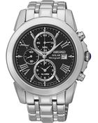 Seiko Men'S Chronograph Le Grand Sport Solar Stainless Steel Bracelet Watch 42Mm Ssc193 - Lyst