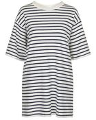 Topshop Stripe Dress By Wood Wood - Lyst