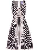 Hervé Léger Eva Stretch Dress - Lyst