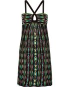 M Missoni Crochet-Knit Cotton-Blend Dress - Lyst