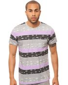 Wesc The Inca Stripe Tee - Lyst